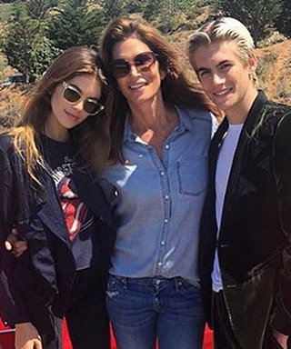 This Photo Proves Cindy Crawford and Her Kids Look More Alike Every Day
