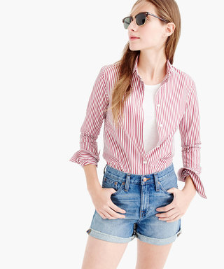 8 Denim Shorts That Don't Show Too Much Skin