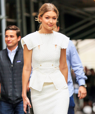 Gigi Hadid Stuns in N.Y.C. with Another Fierce Monochromatic Ensemble