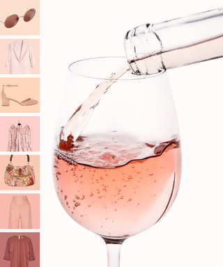 7 Rosé-Colored Fashion Pieces and Their Perfect Wine Pairings to Get You in the Mood for Summer