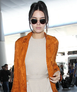 Kendall Jenner's Airport Style Is the Picture of Vintage Chic