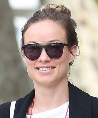 Olivia Wilde Shows Off Her Tiny Baby Bump in Casual-Chic Style