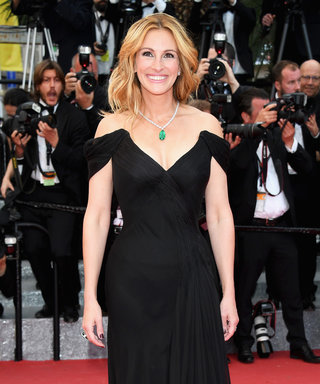 Julia Roberts Wows in Plunging Gown (and Bare Feet!) on Her First-Ever Cannes Film Festival Red Carpet