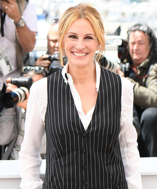 Julia Roberts Pulls Off a Pinstripe Jumpsuit Like No Other in Cannes