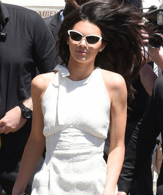 Kendall Jenner Exudes European Ease Modeling a White Jumpsuit in Cannes