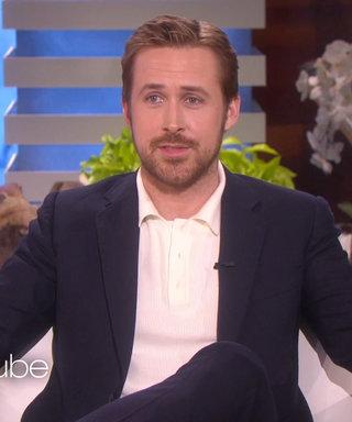 Ryan Gosling Teases a Photo of His Baby Daughter, Talks Playground Politics with Ellen DeGeneres