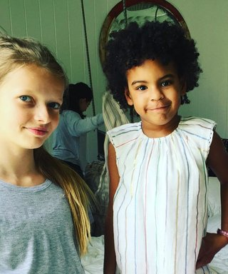 Blue Ivy Attends Gwyneth Paltrow's Daughter Apple Martin's Birthday Party