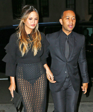 Chrissy Teigen's Latest Date-Night Outfit Is Hot, Hot, Hot
