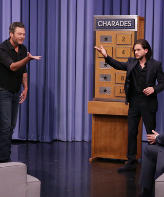 Kit Harington, Rose Byrne, Blake Shelton Play Charades ​on The Tonight Show