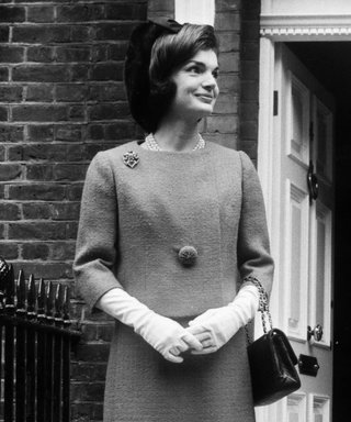 15 Times Jackie Kennedy Wore Her Favorite Accessory—White Gloves