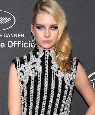 Lottie Moss Steals the Show in Balmain at Chopard's Cannes Film Festival Party