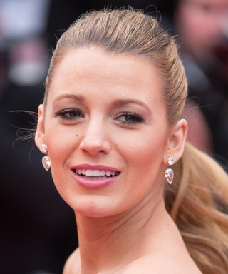 Blake Lively Presents, a Mini Eiffel Tower Made Out of Nail Polish Bottles
