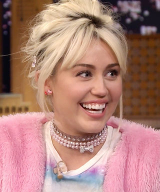 Watch Miley Cyrus Create Ridiculous Faces in a Contest Against Jimmy Fallon