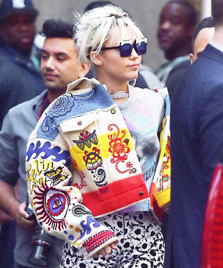 Miley Cyrus Hits the Streets of N.Y.C. in a Wild (and Very Colorful) Ensemble