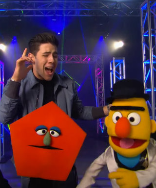 Watch Nick Jonas Perform His Adorable New Song About Shapes with Sesame Street Characters