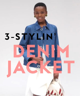 3-Stylin': Three Ways to Wear a Denim Jacket