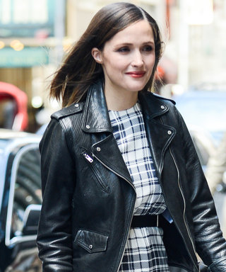 Rose Byrne Looks So Chic in a Plaid Dress Four Months After Giving Birth