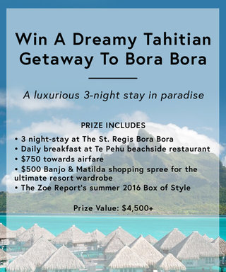 Enter for Your Chance to Win a Fabulous 3-Night Stay in Bora Bora