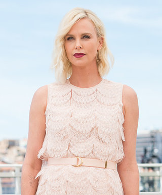 Charlize Theron Is a Vision in Givenchy Lace at Cannes