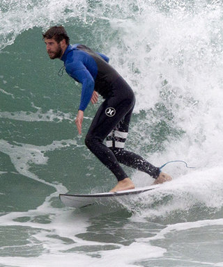 Here's a Photo of Liam Hemsworth Surfing to Brighten Up Your Friday