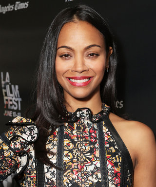 This Photo of Zoë Saldana's 1-Year-Old Twins Is the Funniest Thing You'll See Today