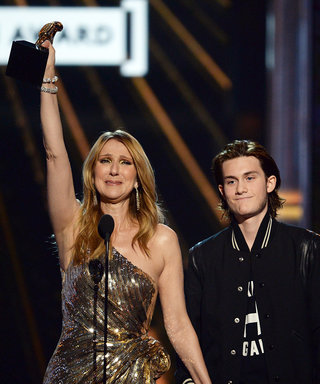 Celine Dion Gives a Tearful Acceptance Speech After Son René-Charles Surprises Her on Stage