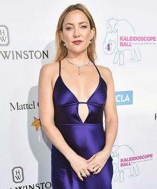 Kate Hudson Is Gorgeous in a Slinky Purple Gown
