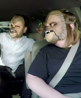James Corden Carpools to Work with Chewbacca Mom and Awesome Surprise Guest