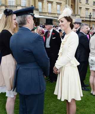 Kate Middleton Stuns in Recycled Ivory Suit for a Garden Party at Buckingham Palace