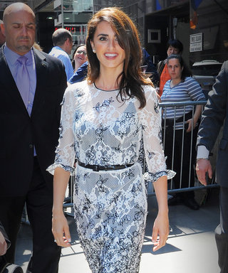 Penélope Cruz's Daytime Dress Proves She's the Ultimate Oscar de la Renta Woman