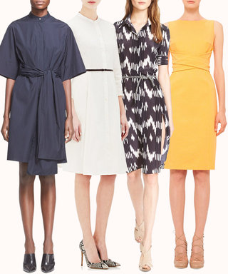 15 of Our Favorite #Girlboss Work Dresses That Are On Sale at Nordstrom, Saks, and Barneys