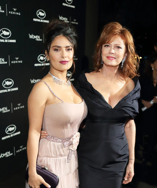 Salma Hayek Pinault and Susan Sarandon Compare Cleavage in Hilarious Instagram