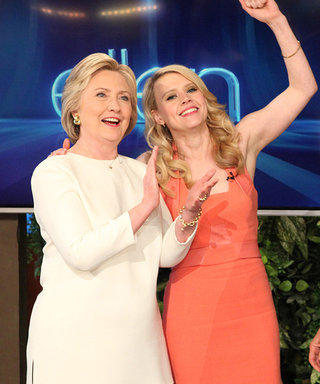 Kate McKinnon Impersonated Ellen DeGeneres and Hillary Clinton to Their Faces