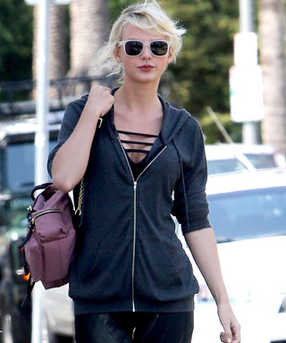 Taylor Swift Hits the Gym in Sexy Workout Attire in L.A.