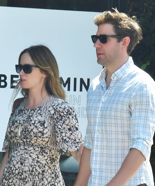 Emily Blunt Camouflages Her Baby Bump During Shopping Date with John Krasinski
