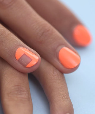 Nail Art Know-How: Negative Space Squared