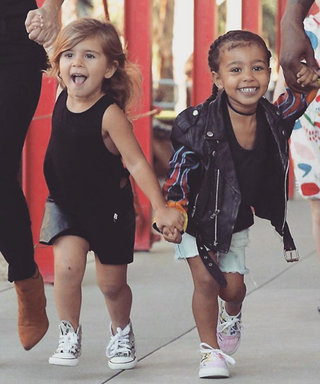 North and Penelope Had the Cutest Moana-Themed Double Bday