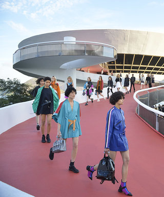 Louis Vuitton's Show in Rio Gets Sporty, Punky, and a Bit Political