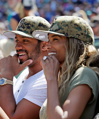 Ciara Flashes Her Stunning Engagement Ring at a Baseball Game with Russell Wilson