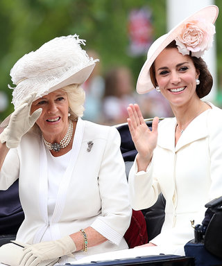See Kate Middleton and the Royal Family Step Out for the Queen's Birthday Parade