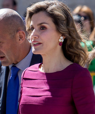 Queen Letizia of Spain Wears the Royal Version of a Bodycon Dress