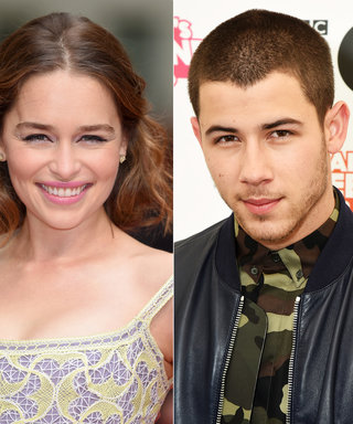 Nick Jonas Gets Flustered Meeting Game of Thrones's Emilia Clarke