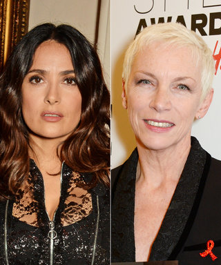 Salma Hayek's Intimate Video of Annie Lennox Performing Has Us Fangirling Right Along with Her