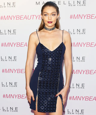Newly Single Gigi Hadid Shows Major Leg at the Maybelline New York Beauty Bash