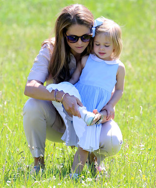 Sweden's Adorable Princess Leonore Romps in Field During Royal Outing