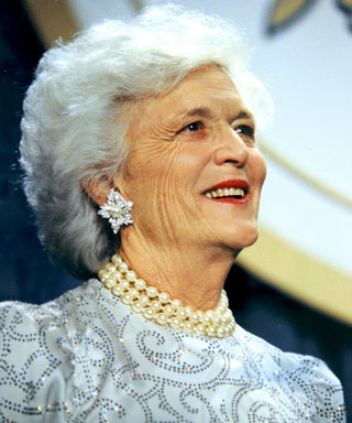 Happy Birthday, Barbara Bush! See the First Lady's Inaugural Gown