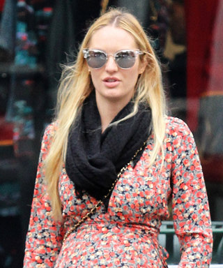 Candice Swanepoel and Her Baby Bump Have an Adorable Lunch Date with Doutzen Kroes
