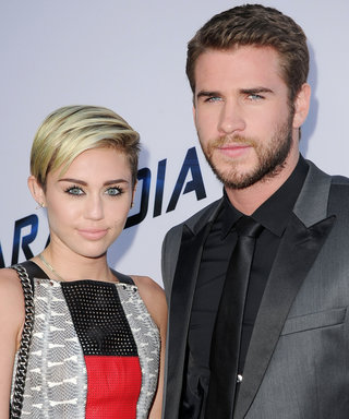 Liam Hemsworth Hangs Out with Miley Cyrus's Dog in Cute New Photo