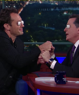 Watch Jude Law Portray Rose from Titanic with Ping-Pong Ball Eyes