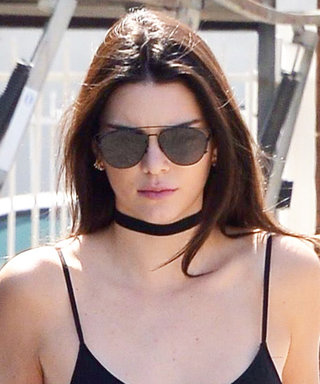 Kendall Jenner Sizzles in a Spaghetti Strap Top and Skinny Jeans